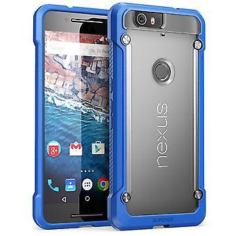 SUPCASE Nexus 6P Unicorn Beetle Hybrid Bumper Case - Frost/blå