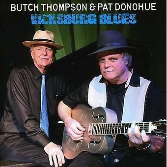 Pat Donohue & Butch Thompson - Vicksburg Blues [CD] USA import