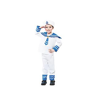Sailor costume Navy sailor costume for boys 2-3 years size 104 T2