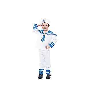 Sailor kostume Navy matros kostume til drenge 2-3 år størrelse 104 T2