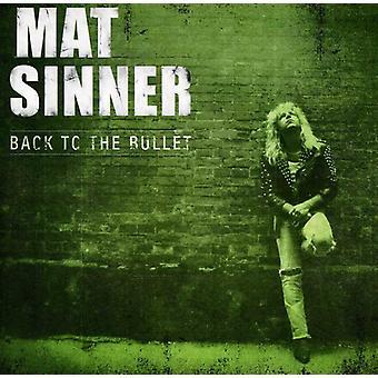 Mat Sinner - zurück zu den Bullet [CD] USA import