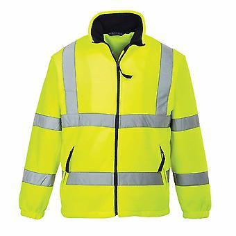Portwest - Hi-Vis Safety Workwear Mesh Lined Fleece Jacket