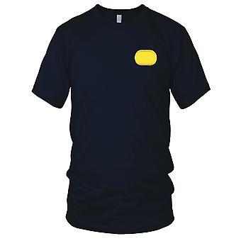 US Army Forces spéciales - 1er groupe aéroporté ovale brodé Patch - Mens T Shirt