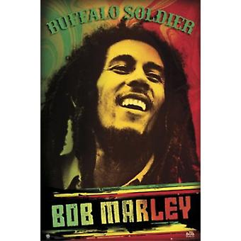 Bob Marley - Buffalo Soldier juliste Juliste Tulosta