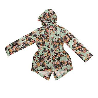 Brave Soul Childrens/Girls Gardenia Full Zip Parka Jacket
