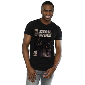 Star Wars Herren Darth Vader Duell Comic T-Shirt