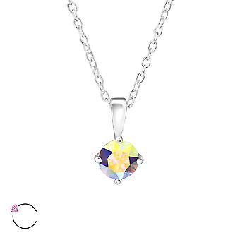 Runda crystal från Swarovski® - 925 Sterling Silver Halsband - W34039X