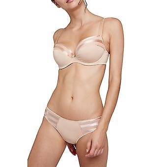 Nue desnuda Maison Lejaby G41431-145 mujeres acolchado sujetador con aros de balcón