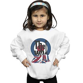 Die Mädchen Flagge Decke Sweatshirt