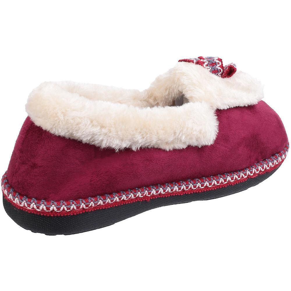 Donna/Womens flotta & adottivo Duffy lanuginoso caldo scarpa piena Pantofole dfb0LD