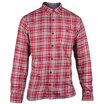 Caterpillar Mens Bradley Contrast Long Sleeve Casual Shirt