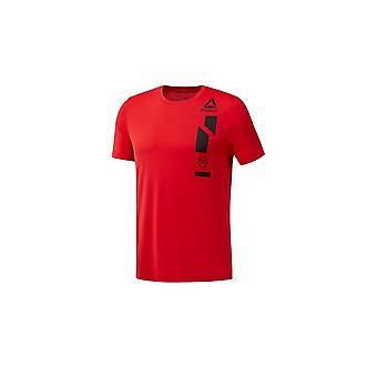 リーボック Wor Activchill グラフ T CE0673 普遍的なすべての年の男性 t シャツ