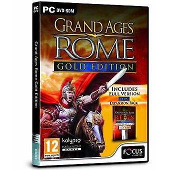 Grand Ages Rome - Gold Edition (PC DVD) - As New