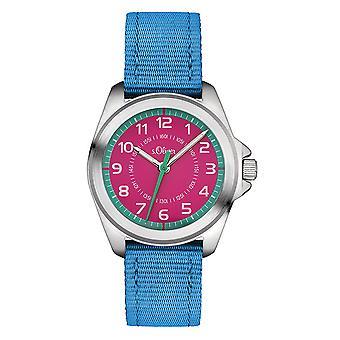 s. Oliver hodinky deti náramkové hodinky deti SO-3229-LQ
