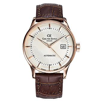 Carl of Zeyten men's watch wristwatch automatic Russ CVZ0004RWH