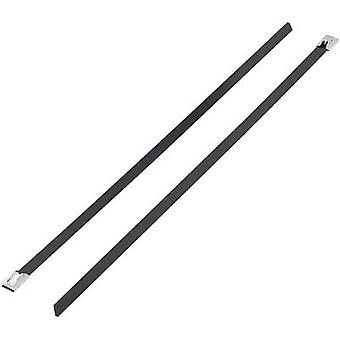 KSS 1091192 BSTC-201 Cable tie 201 mm 4.60 mm Black Coated 1 pc(s)