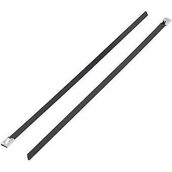 KSS 1091192 BSTC-201 Cravată cablu 201 mm 4,60 mm Negru Acoperit 1 buc.