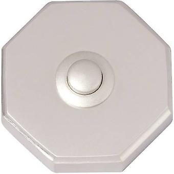 Heidemann 70081 Bell button 1x Nickel-coated 24 V/1 A