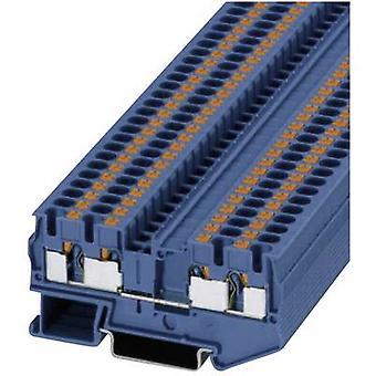 Phoenix Contact PT 4-QUATTRO BU 3211802 kontinuitet antal stift: 4 0,2 mm² 4 mm² blå 1 dator