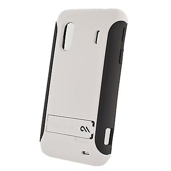 5 Pack -Case-Mate Pop! Case with Stand for HTC EVO Design 4G (White/Gray)