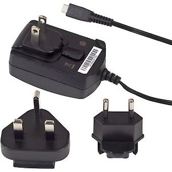 OEM Verizon BlackBerry Micro USB rejse oplader med global/International adapter clips ASY-18080-001 ASY-18080-003 RI