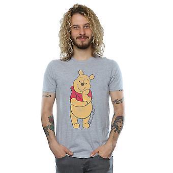 迪斯尼男装's温妮的Pooh经典PoohT恤