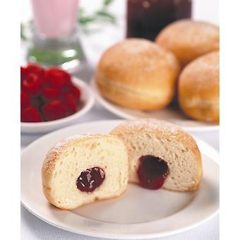 Kara Frozen Giant Sugared Ball Jam Doughnuts