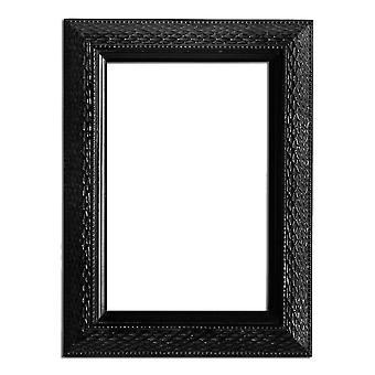 10x15 cm or 4x6 inch, photo frame in black