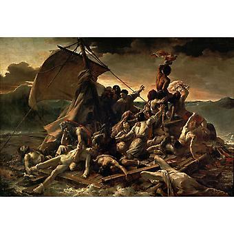 THe Raft de la Méduse, Théodore Gericault, 60x40cm