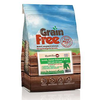 Greenhill Farm Grain Free Lamb, Sweet Potato & Mint