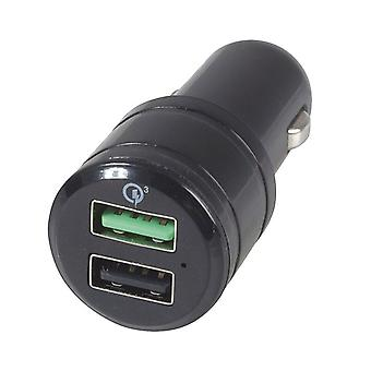 5.4A Double USB Car Charger w/ Qualcomm Quick Charge 3.0
