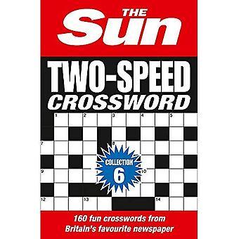 El Sun dos velocidades crucigrama colección 6:160 dos uno críptico y crucigramas de tiempo café