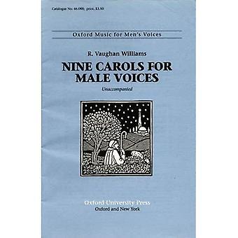 Ni julesanger for mannlige stemmer: vokal score