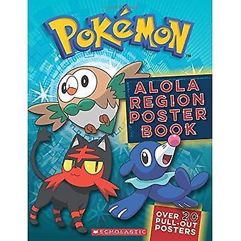 Alola regione Poster Book