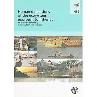 Mänskliga mått av ekosystemet förhållningssätt till fiske: en översikt över ramen, koncepten, verktyg och metoder