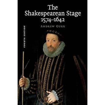 Shakespearean Stage 15741642 par Andrew Gurr