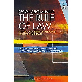 Reconceptualising van de rechtsstaat in het wereldbestuur, de middelen, de investeringen en de handel