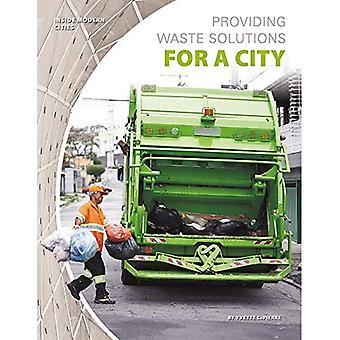 Fornecendo soluções de resíduos para uma cidade (cidades de interior moderno)