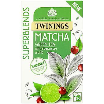 Twinings Superblends Matcha Enveloped Tea Bags
