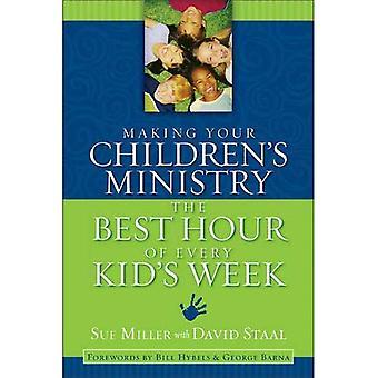 Gjør barnas departementet Best time av hvert barns uke