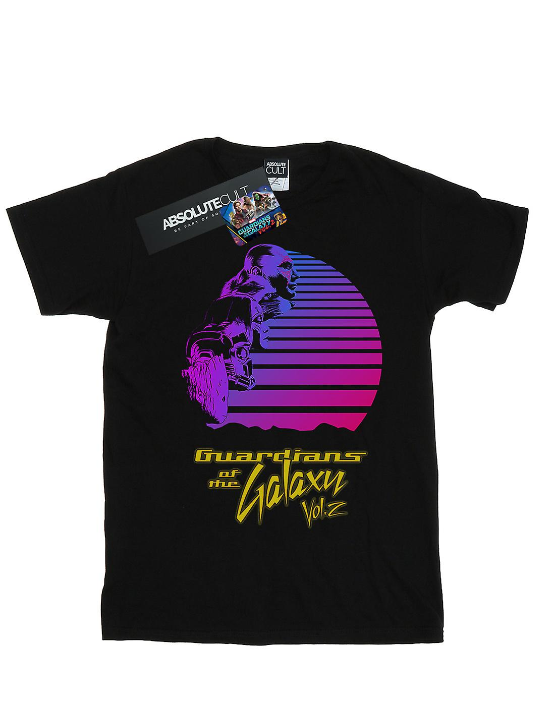 Marvel Women's Guardians Of The Galaxy Vol. 2 Retro Boyfriend Fit T-Shirt