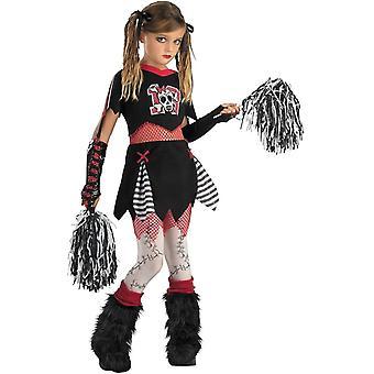 Cheerleaderka lalka dziecko kostium
