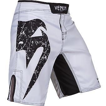 فينوم رجالي الأصلي العملاق MMA التدريب السراويل القتال - أبيض / أسود