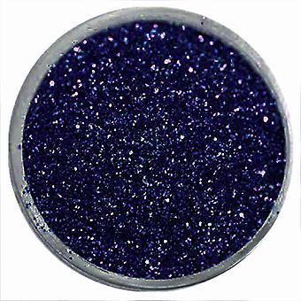 1x Fine-grained glitter dark blue