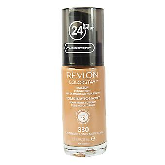 Revlon ColorStay Foundation No. 380 Rich Ginger - Combination / Oily Skin