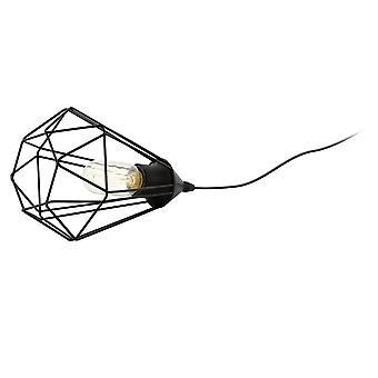 Lámpara de mesa negro Eglo Tarbes