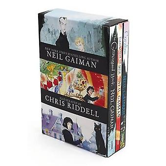 Neil Gaiman/Chris Riddell 3-Book Box Set - Coraline; The Graveyard Boo