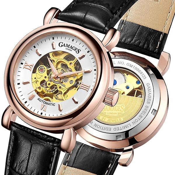 Gamages Of London Limited Edition Hand Assembled Skeleton Automatic Rose