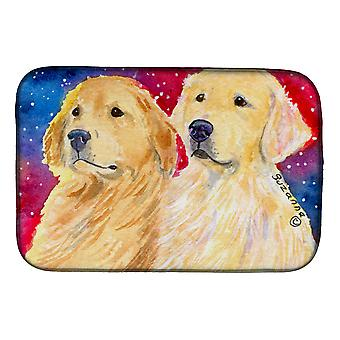 Carolines Treasures  SS8754DDM Golden Retriever Dish Drying Mat