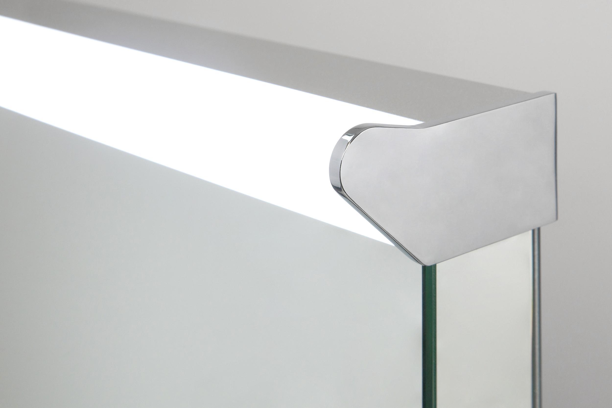 Cygnus Top Light LED Bathroom Mirror with Demister Pad & Sensor k478